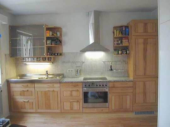 Küche selbst gebaut  Freie Holzwerkstatt Freiburg - Küche